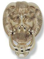 Heurtoir Tete de Lion laiton
