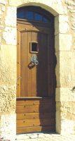 porte entrée Périgourdine modifié avec imp cintrée