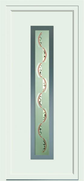Portes PVC Fabrication De Porte En PVC Menuiserie Menuiseries Seguy - Porte entree pvc