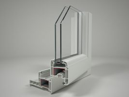 Coupe fenêtre PVC
