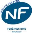 Certifié NF FENETRES BOIS par FCBA